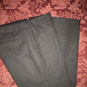 J.Crew Minnie Pant in Grey Stretch Wool